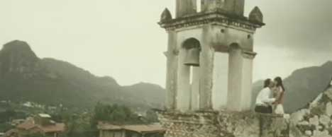 Mexican church in The Killers music video