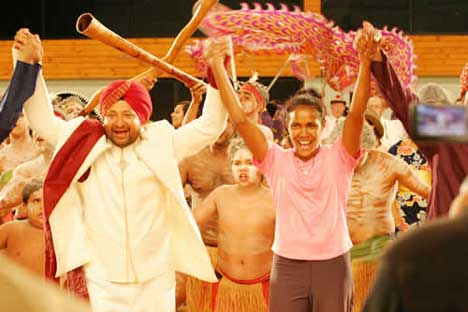 Manjit Boparai in music video