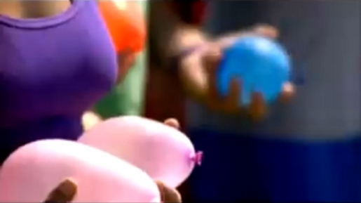 Water Balloons in Ben Lee music video