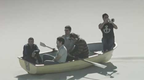 Cat Empire perform on boat in No Longer There music video