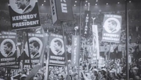 John F Kennedy rally in Matchbox Twenty music video