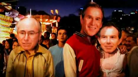 Bush, Howard and Blair on date
