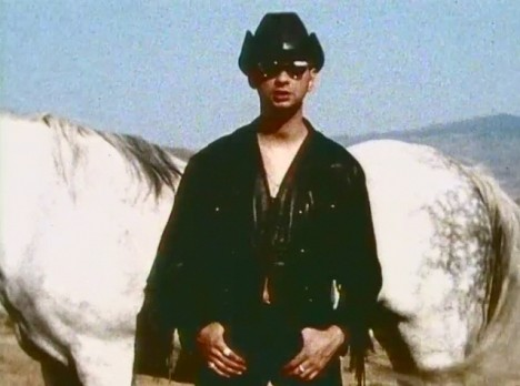 David Gahan in Depeche Mode music video Personal Jesus