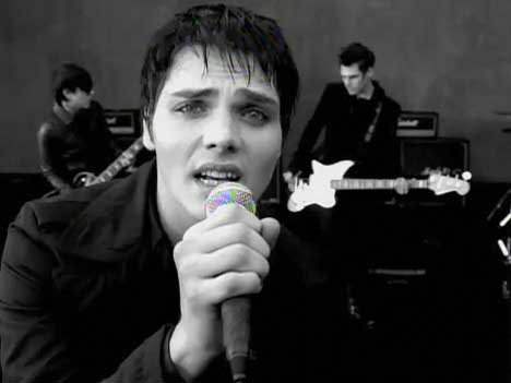 Gerard Way in My Chemical Romance music video for I Don't Love You