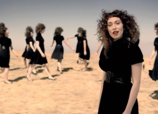 Regina Spektor in Better music video