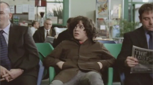 Kyle Falconer in Dundee Airport for Same Jeans music video