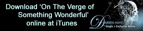 Darren Hayes - On the Verge of Something Wonderful - Single - On the Verge of Something Wonderful