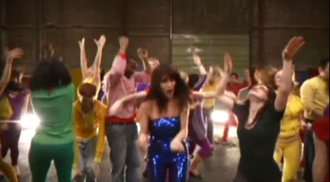 Feist in 1234 music video