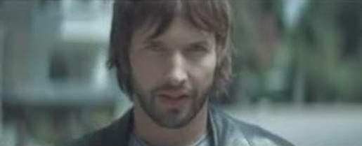 James Blunt in 1973 music video