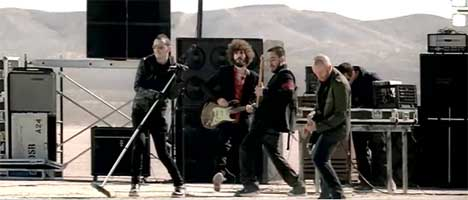 Linkin Park in What I've Done music video