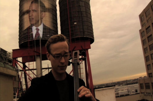 Ben Sollee and Barack Obama in A Few Honest Words