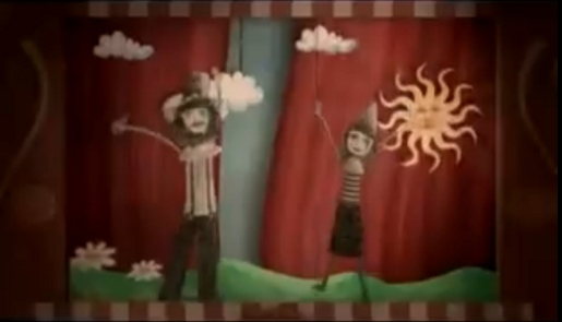 Angus and Julia Stone Puppets