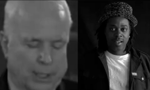 John He Is music video featuring John McCain and Will.i.am