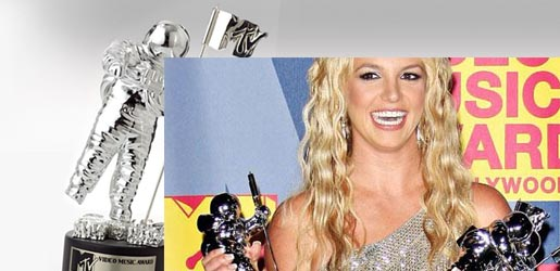Britney Spears at MTV MVA 2008