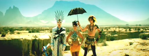 Empire of the Sun in We Are the People music video
