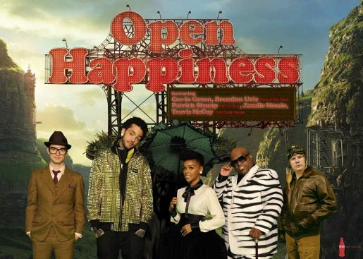 Open Happiness music video group