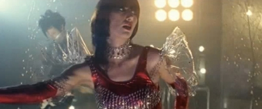 Karen O in Yeah Yeah Yeah Heads Will Roll music video
