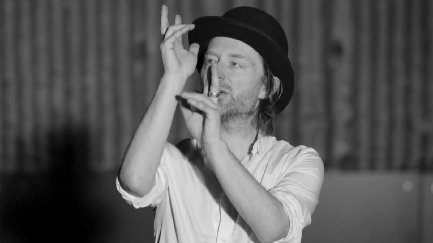 Thom Yorke in Lotus Flower music video