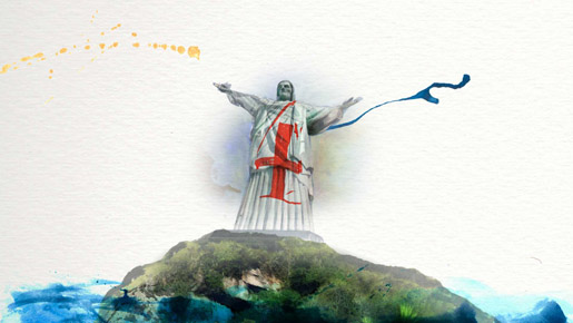 Beyonce Christ the Redeemer Water Colours in 4 Around the World video