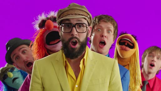 OK Go and Muppets
