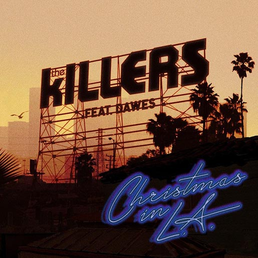The Killers Christmas in LA - Single