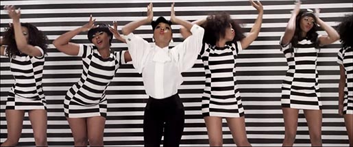 Janelle Monae Q.U.E.E.N. dancers in music video