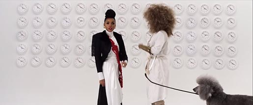 Janelle Monae Q.U.E.E.N. with Erykah Badu in music video