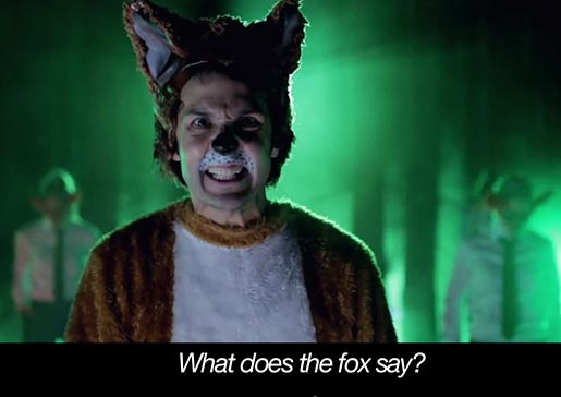 Ylvis The Fox Music Video What does the fox say?