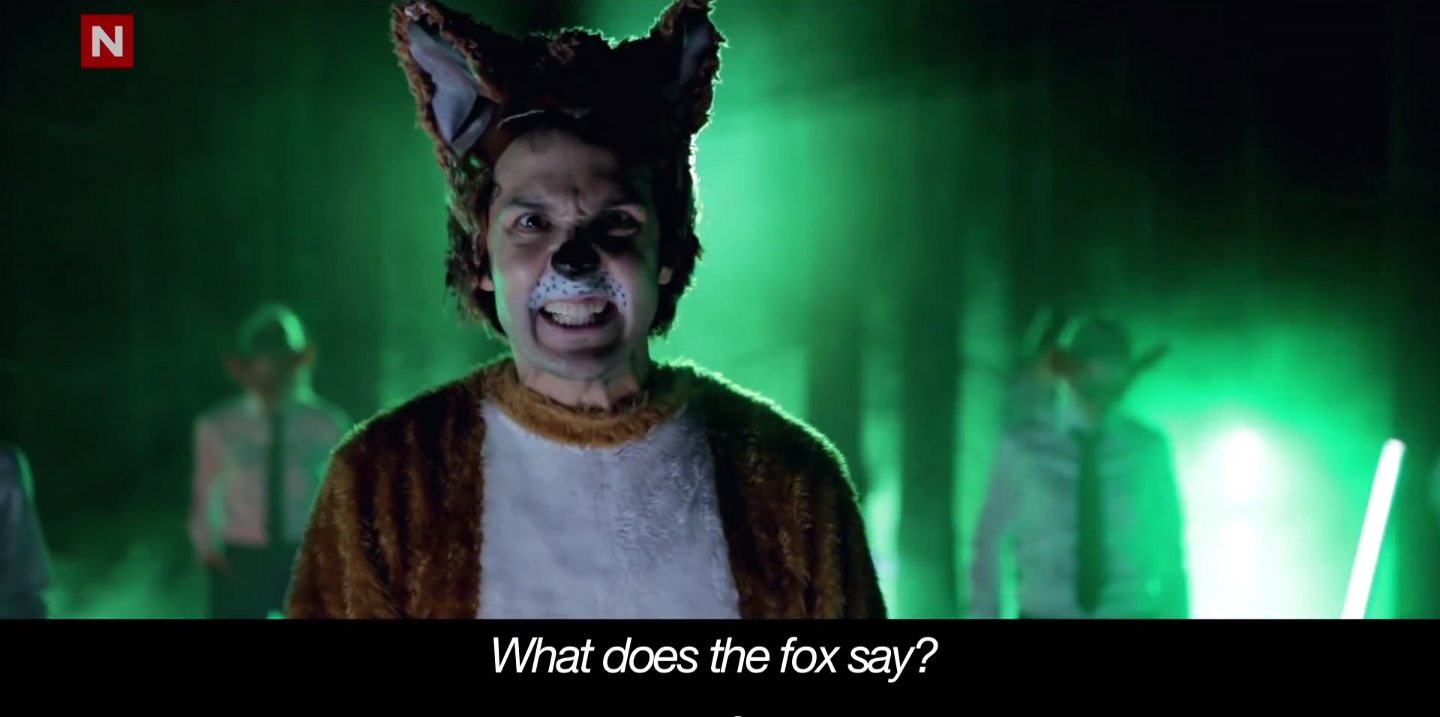ylvis the fox and more the inspiration room