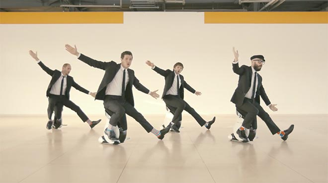 OK Go I Won't Let You Down music video