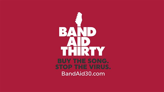 Band Aid Thirty Do They Know It's Christmas 2014