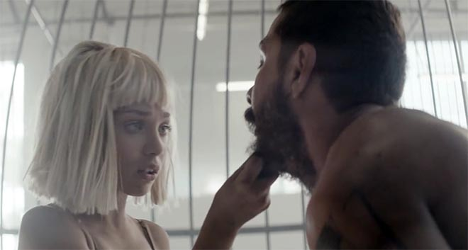 Sia Elastic Heart music video - Maddie Ziegler and Shia Labeouf