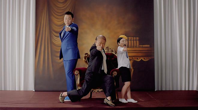 PSY Daddy music video