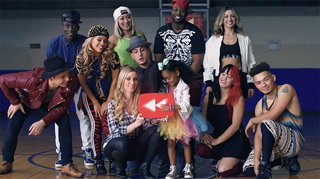 YouTube Rewind 2015 dancers