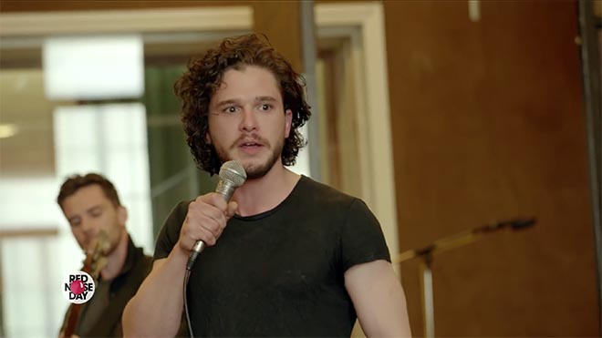 Game of Thrones The Musical - Kit Harington sings Wildling