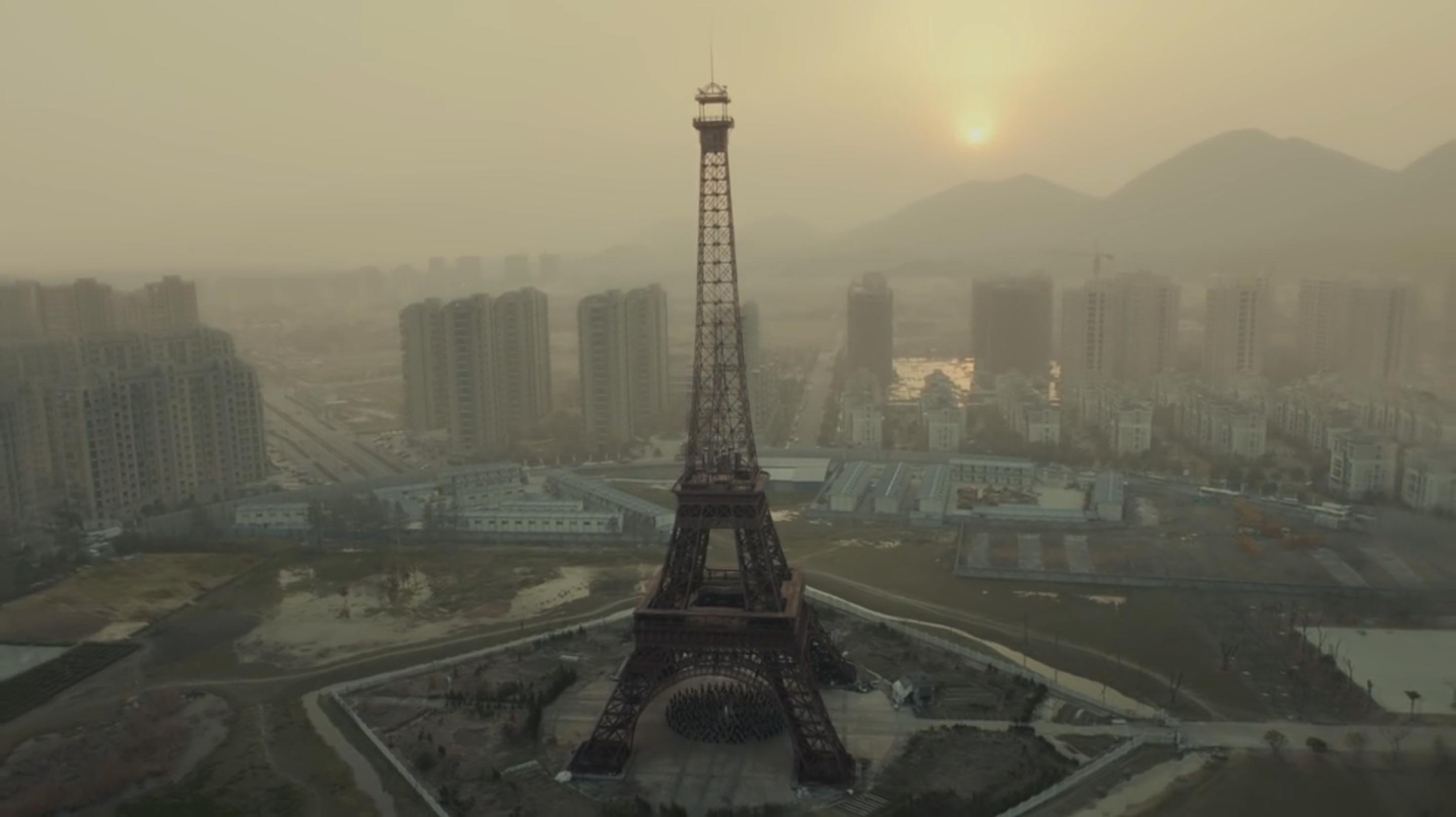 Jamie XX Gosh music video with Eiffel Tower