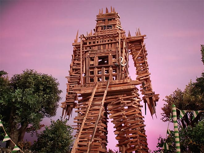 Radiohead Burn The Witch Wicker Man