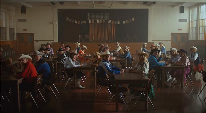 Lil Nas X in Old Town Road (Remix) music video