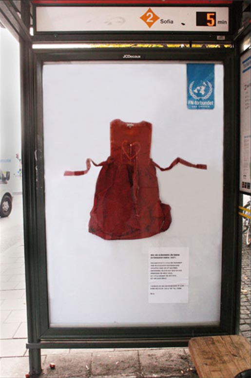 Dress from UN Georgia campaign