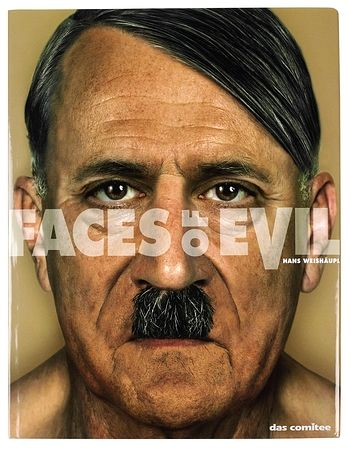 Faces of Evil Book with Adolf Hitler on cover