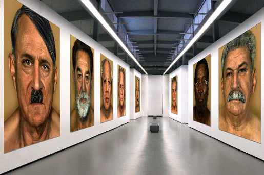 Faces of Evil exhibition
