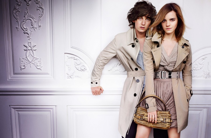 Emma Watson in Burberry Spring Summer Campaign - The Inspiration Room