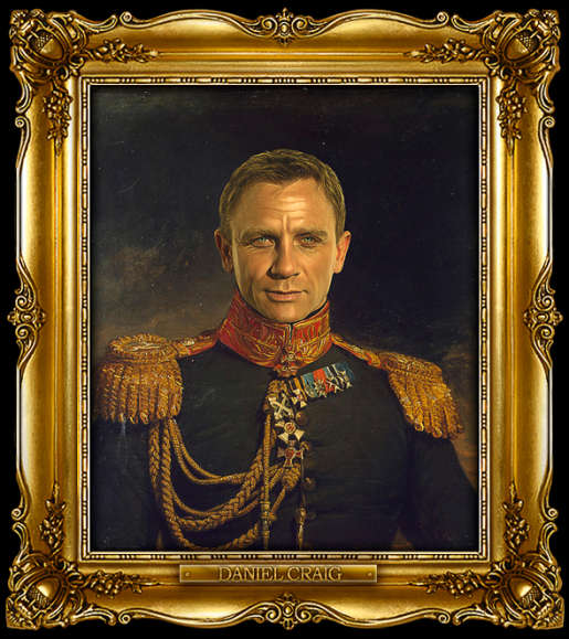 Replaceface Daniel Craig