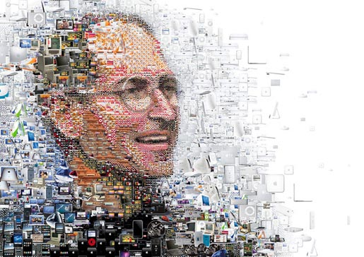 Steve Jobs by Charis Tsevis in Focus magazine