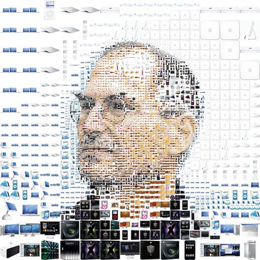 Steve Jobs by Charis Tsevis in Fortune magazine