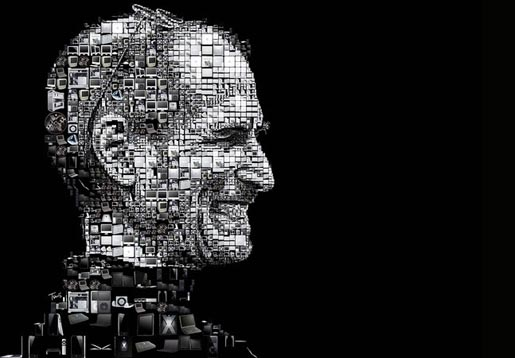 Steve Jobs by Charis Tsevis in The Los Angeles Times
