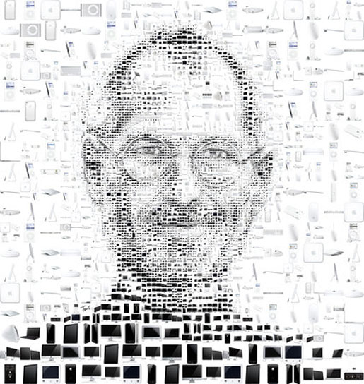 Steve Jobs by Charis Tsevis in Panorama