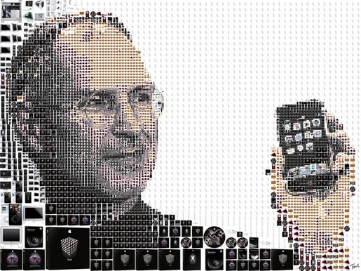 Steve Jobs by Charis Tsevis - personal project