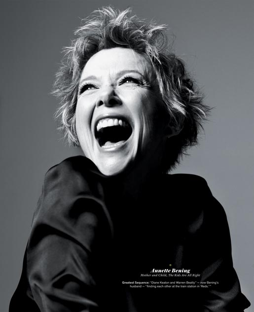 NY Times - Annette Bening
