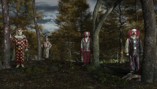 Barnumville Clown Forest